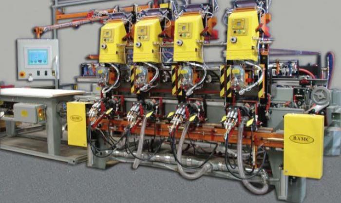 builders automation prehung door machine